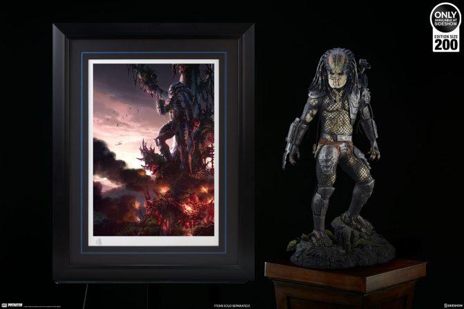 Set Your Sights on the Predator Jungle Hunter Premium Art Print