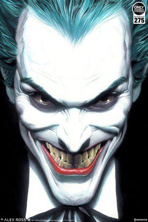 The Joker: Portraits of Villainy Fine Art Lithograph by Alex Ross