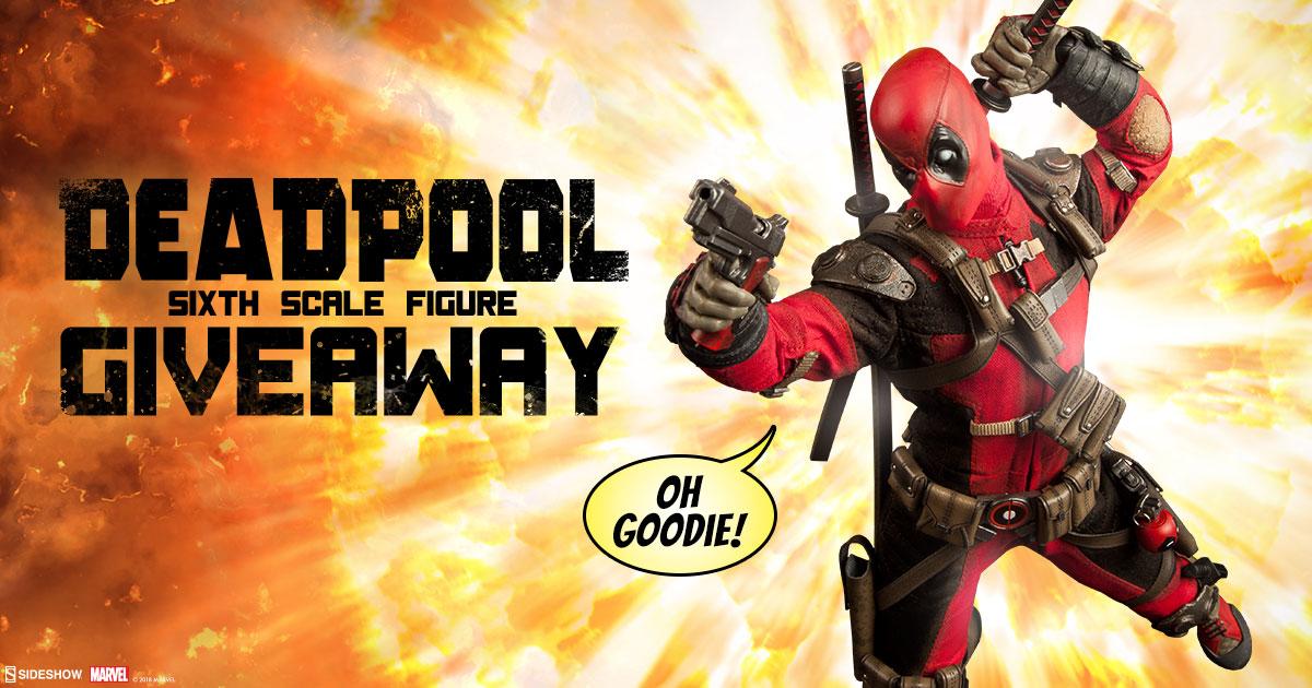 Deadpool Sixth Scale Figure Giveaway