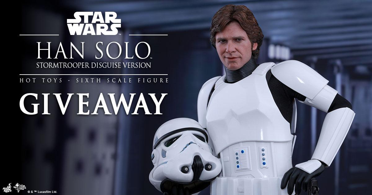 Han Solo in Stormtrooper Disguise Figure Giveaway