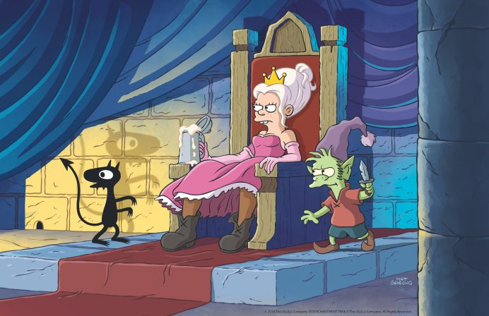 Netflix Sets Premiere for Matt Groening's Disenchantment