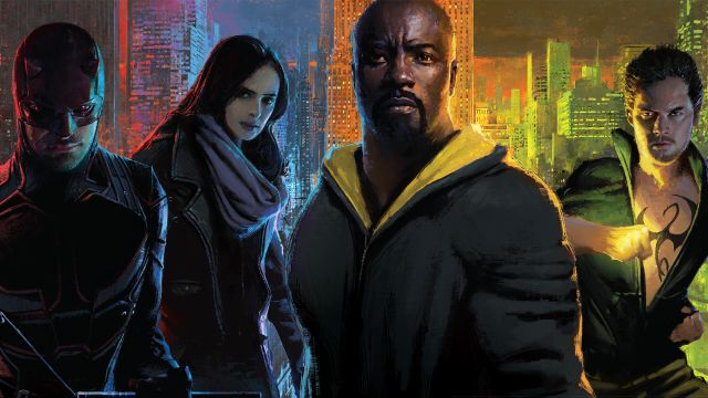Then & Now- The Defenders