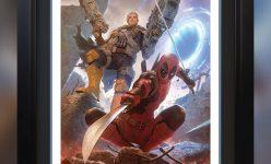 Deadpool & Cable Premium Art Print by Alex Garner