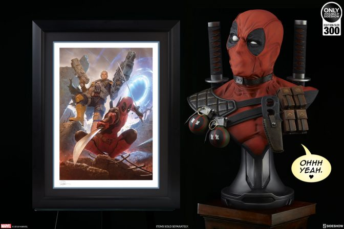 The Deadpool & Cable Premium Art Print by Alex Garner Teams Up Across Time Streams
