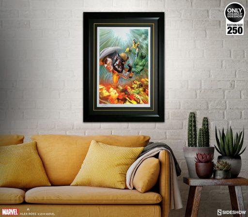 Death of Wolverine Fine Art Lithograph