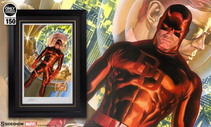 Daredevil Fine Art Lithograph