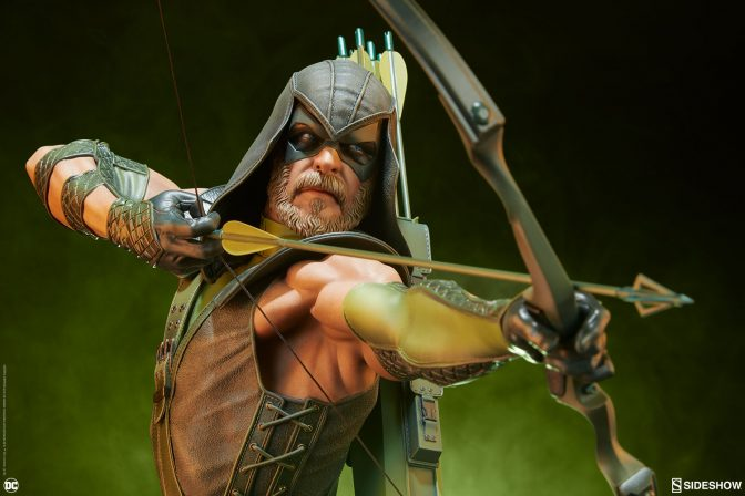 Aim to Add the Green Arrow Premium Format™ Figure to Your DC Collection!