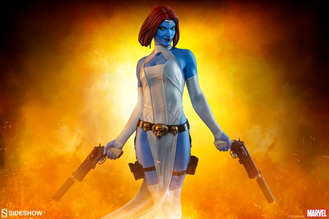 Change Up Your Collection with the Mystique Premium Format™ Figure!