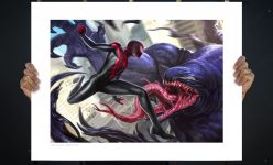 Spider-Man: Miles Morales Fine Art Print by Anthony Francisco