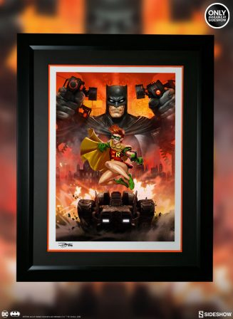Gotham's in Good Hands with the Batman: The Dark Knight Returns Premium Art Print