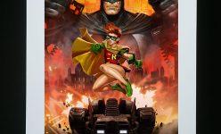 Batman: The Dark Knight Returns Premium Art Print by Dave Wilkins