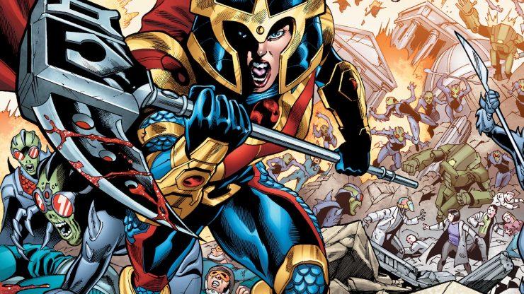 Big Barda from DC Comics- Unsung Heroes Spotlight
