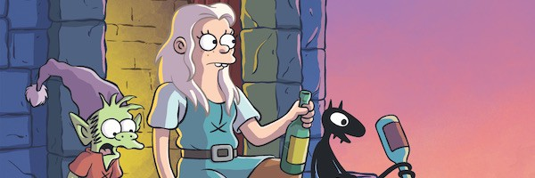 Disenchantment on Netflix by Matt Groening