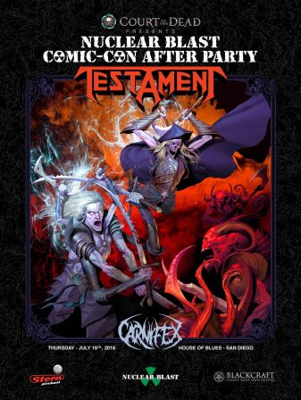 Court of the Dead Presents: The Nuclear Blast Comic-Con 2018 After Party!