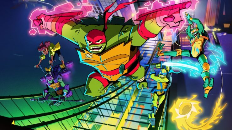 Rise of the Teenage Mutant Ninja Turtles Theme Song