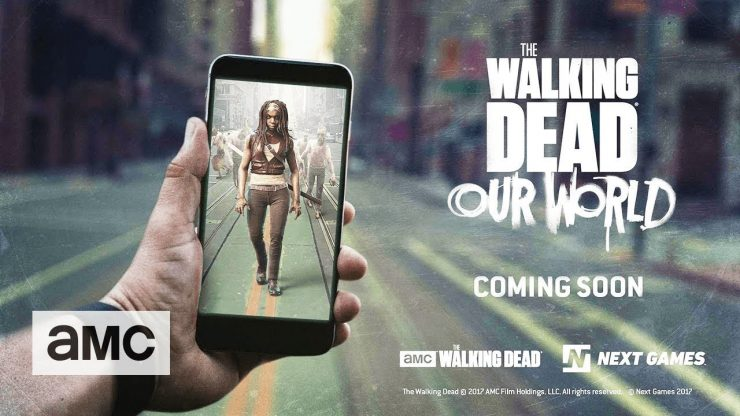 AMC Trailer for The Walking Dead Mobile Game