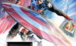 Captain America #600 Lithograph- Online Comic-Con