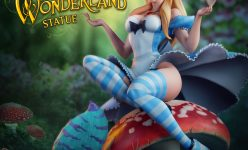 Alice in Wonderland Statue- Online Comic-Con