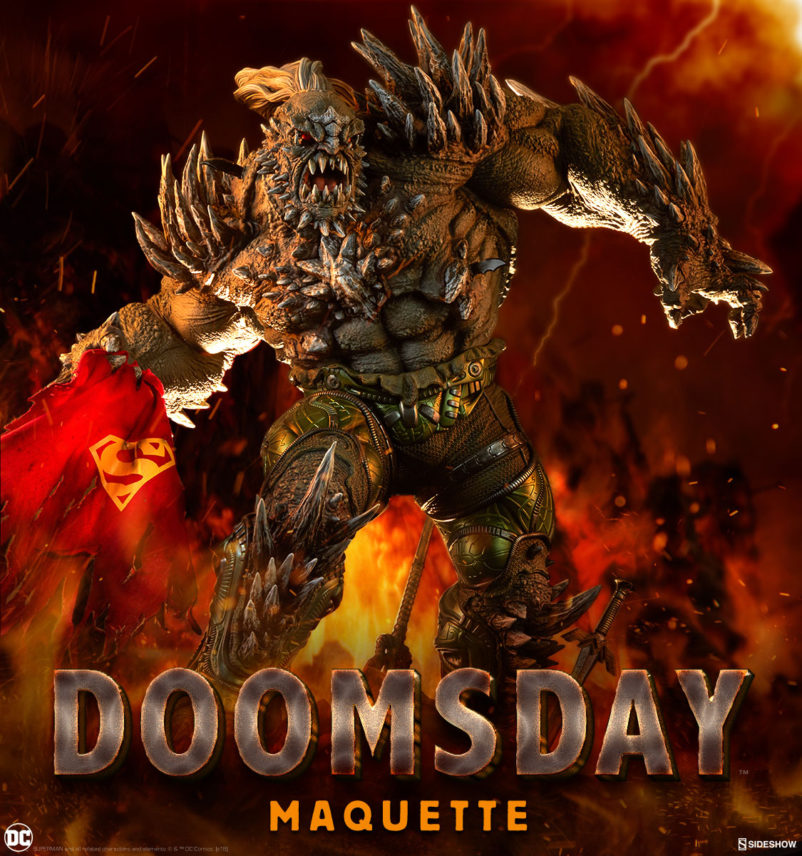 Doomsday Maquette Sideshow Collectibles