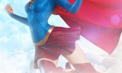 Supergirl Premium Format Figure- Online Comic-Con
