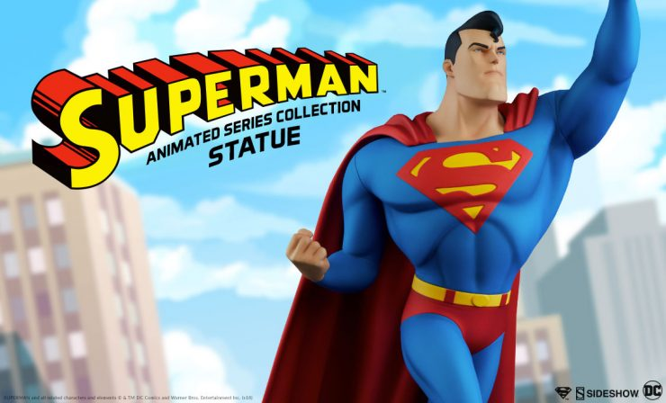 Superman Statue – Animated Series Collection