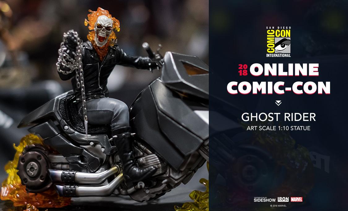 Hjc Fg 17 >> Iron Studios Ghost Rider Art Scale 1:10 Statue   Sideshow ...