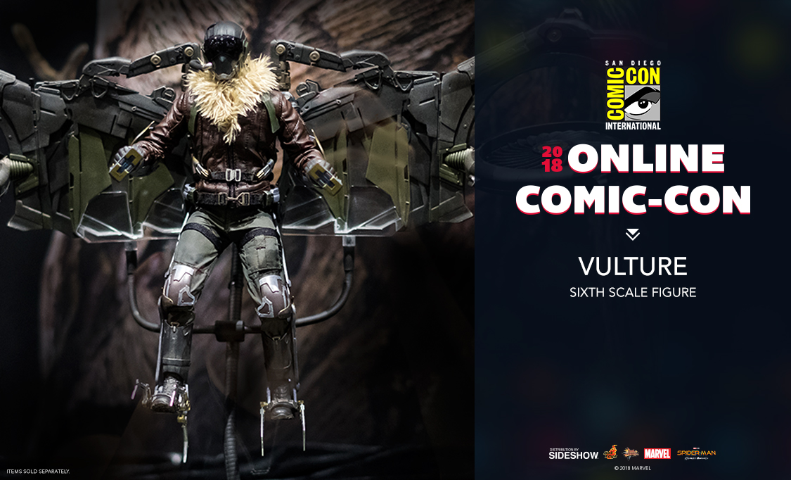 Hot Toys Vulture Sixth Scale Figure   Sideshow Collectibles