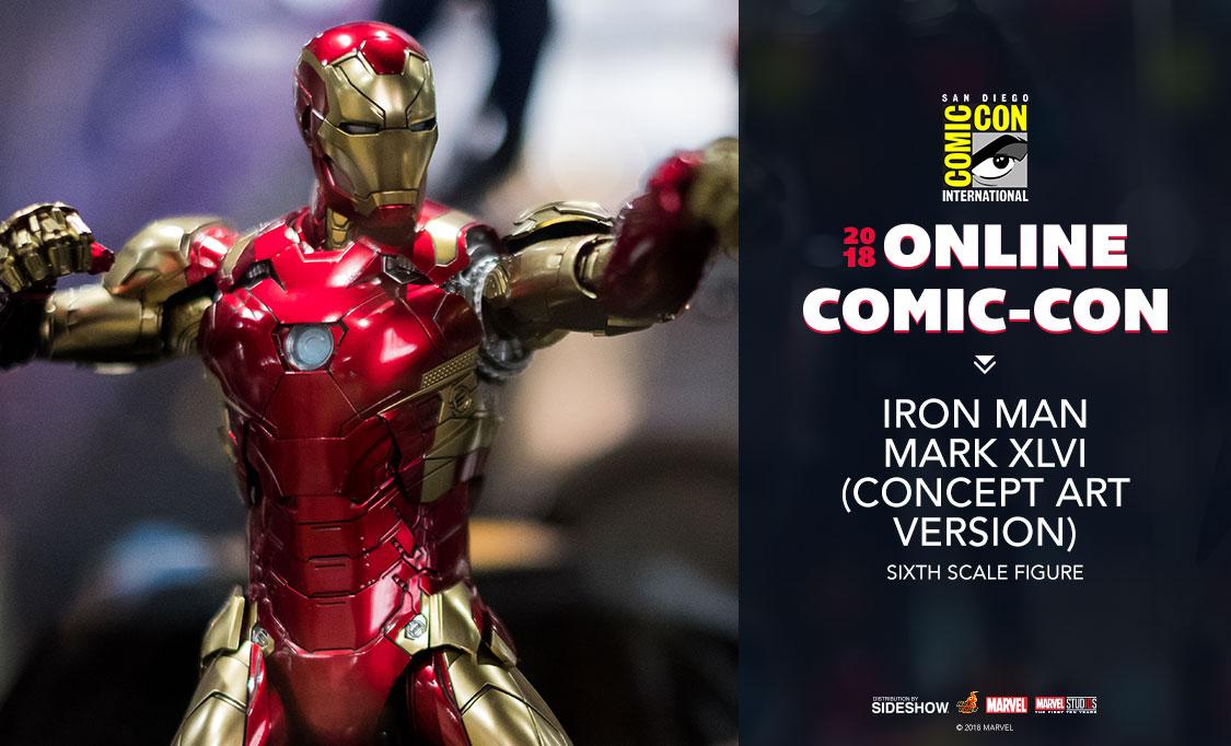 Hot Toys Iron Man Mark XLVI (Concept Art Version Sixth Scale