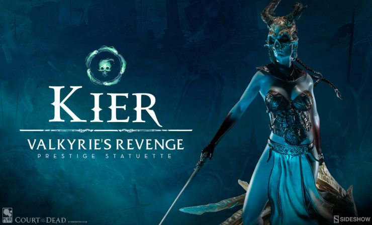 Kier Valkyrie's Revenge Prestige Statuette
