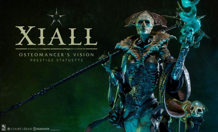 Xiall Osteomancer's Vision Prestige Statuette