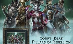 Pillars of Rebellion Court of the Dead Fine Art Print