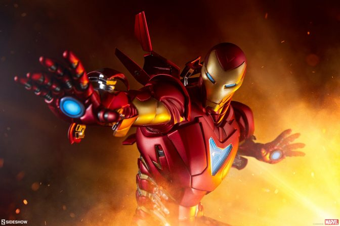 Iron Man Extremis Mark II Statue