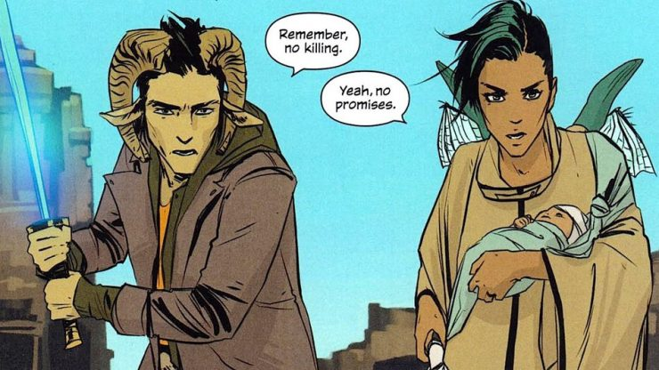 Saga Comic Takes a Year-Long Hiatus