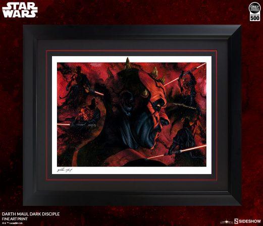 Darth Maul™- Dark Disciple Fine Art Print