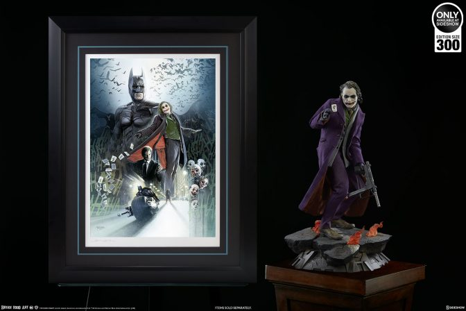 It's Simple- We Collect the Batman: The Dark Knight Fine Art Print