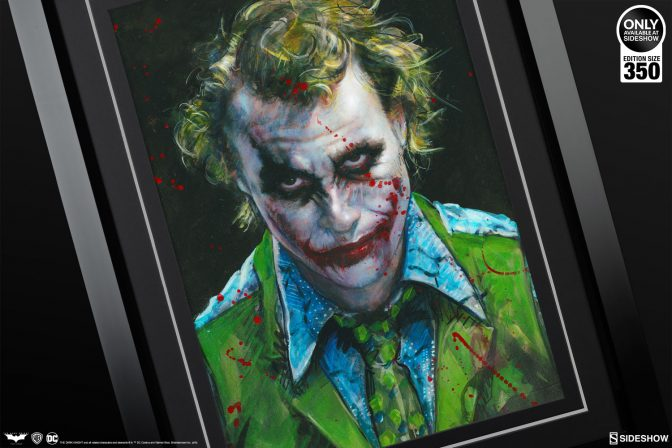 Put on a Twisted Grin with the Why So Serious? Fine Art Print by Olivia De Berardinis