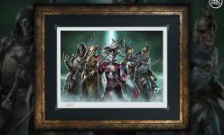 Pillars of Rebellion Fine Art Print