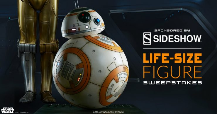 Comic-Con 2018: Don't Miss Your Chance to Enter to Win a BB-8 Life-Size Figure!