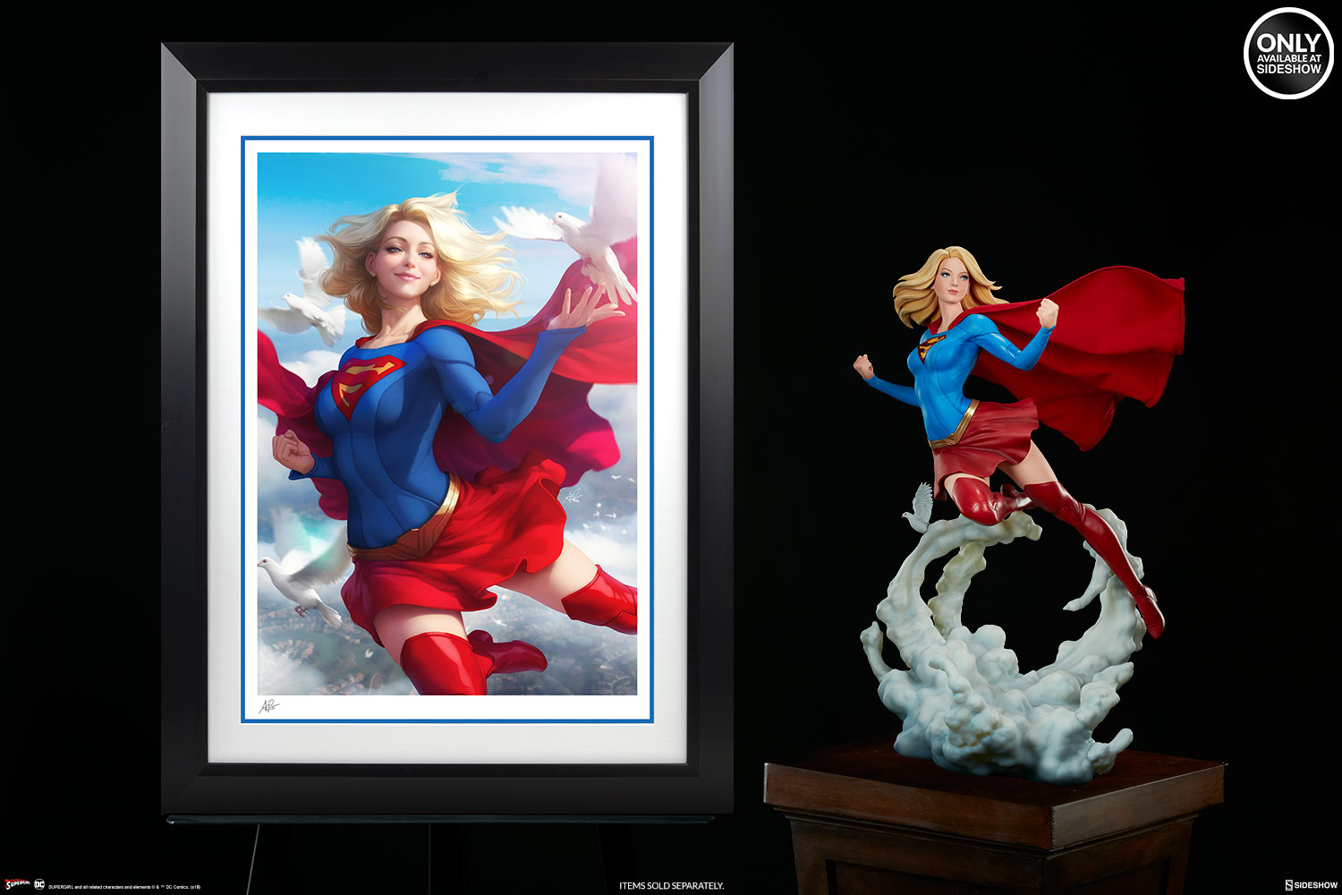 Birds Of A Feather Flock Together In The Supergirl Fine Art Print