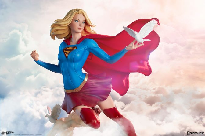 Take to the Skies with the Supergirl Premium Format™ Figure