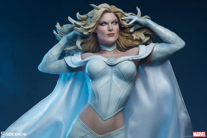 Put Mutant Mind Over Matter with the Emma Frost Premium Format™ Figure