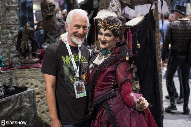 Court of the Dead's Queen Gethsemoni Graces Comic-Con 2018!