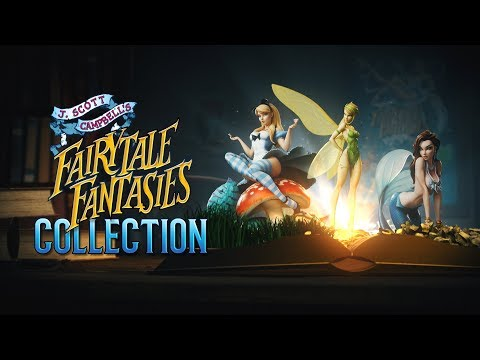 Go Through the Looking Glass with the J. Scott Campbell's Fairytale Fantasies Collection Video