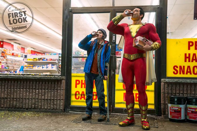 First Official Look at Shazam! Film and Costume