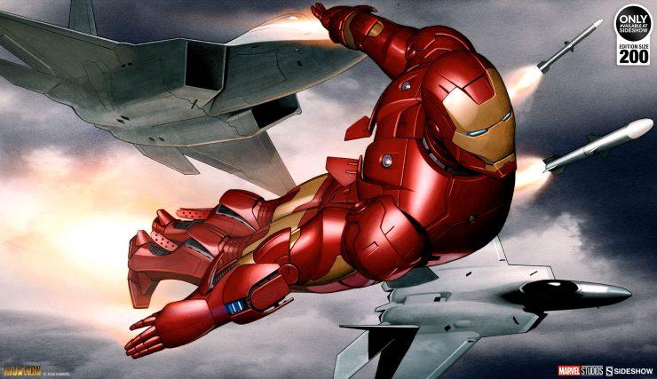 Iron Man Mark III Fine Art Print by Adi Granov