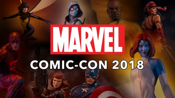 Sideshow's Marvel Product Highlights for Comic-Con 2018