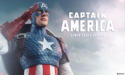 Captain America Sixth Scale Figure- Online Comic-Con