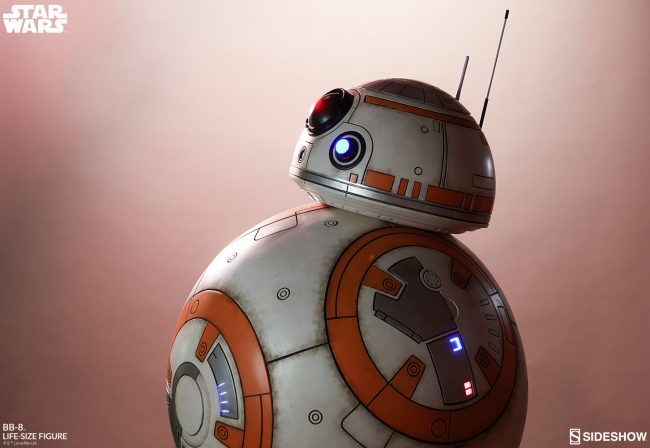 The BB-8 Life-Size Figure Is Ready to Roll into Your Star Wars Collection!