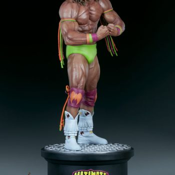 Ultimate Warrior Statue