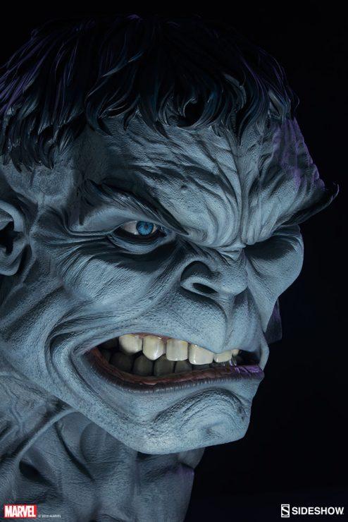 Gray Hulk Life-Size Bust